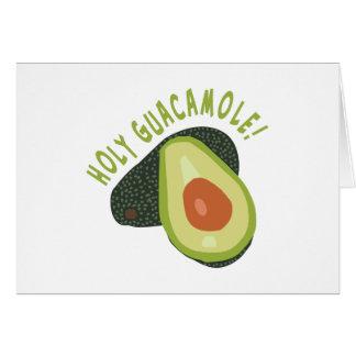 Carte Guacamole saint