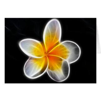 Carte Guérison avec des remèdes de fleur de bach