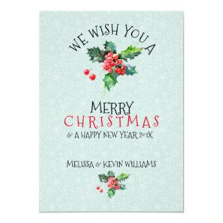 Carte Gui nous vous souhaitons le Joyeux Noël