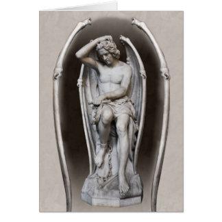 Carte Guillaume Geefs Lucifer CC0287 plié