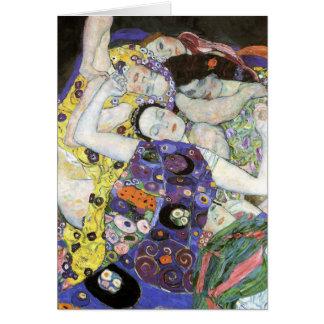 Carte Gustav Klimt - l'huile vierge