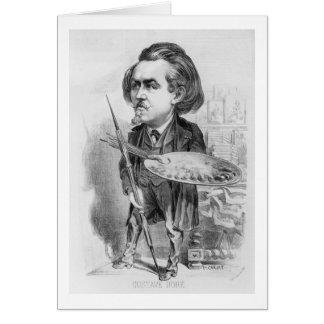 Carte Gustave Dore (1832-83), caricature de 'Le Boulev