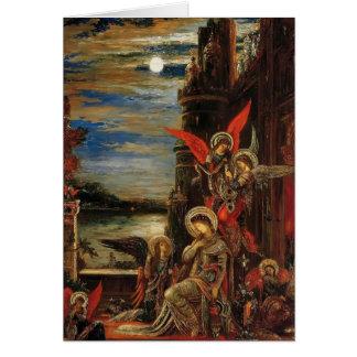 Carte Gustave Moreau- St Cecilia