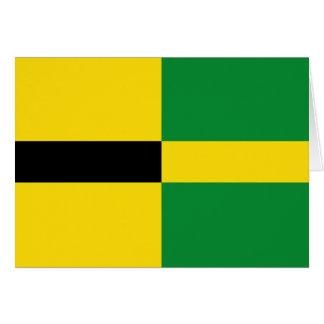 Carte Habay drapeau de Belgique, Belgique