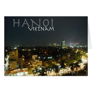 Carte Hanoï, Vietnam