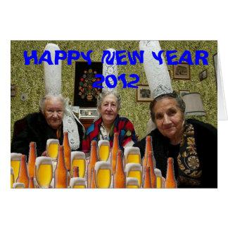 CARTE HAPPY NEW YEAR 2012