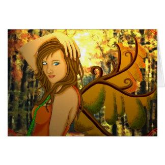 Carte Harmonie d'automne