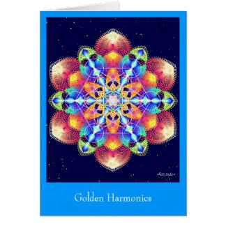 Carte Harmoniques d'or