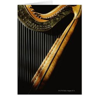 Carte Harpe ensoleillée