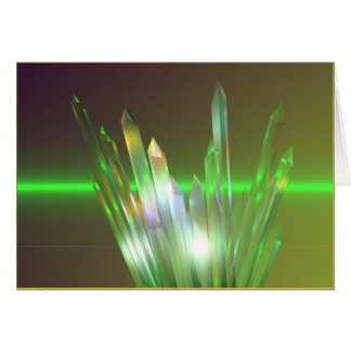 Carte Hausse en cristal