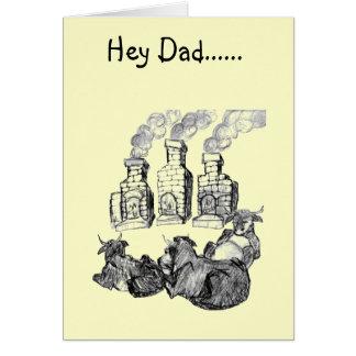 Carte Hé papa ......