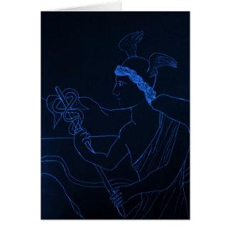 Carte Hermes - Dieu de messager