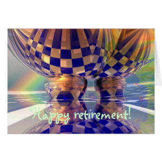 Carte heureuse de retraite