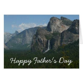 Carte heureuse de Yosemite de fête des pères