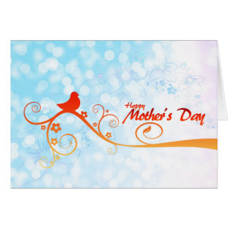 Carte heureuse du jour de mère