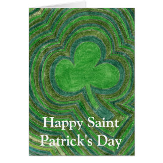 Carte heureuse du jour de Patrick de saint par