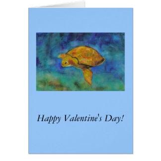 Carte Heureuse Sainte-Valentin !