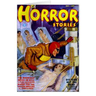 Carte Histoires d'horreur