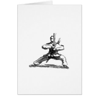 Carte Homme avec l'épée