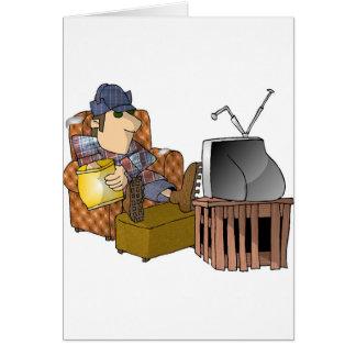 Carte Homme de TV