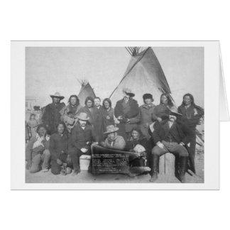 Carte Hommes blancs (Buffalo Bill y compris) et Lakota 2