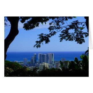Carte Honolulu, Hawaï
