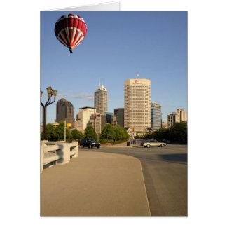 Carte Horizon de ville d'Indianapolis