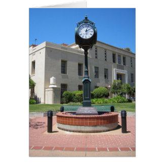 Carte Horloge de tribunal de San Luis Obispo