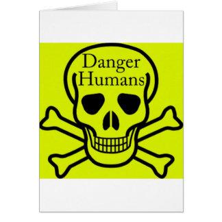 Carte Humains de danger