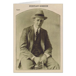 Carte Huntley Gordon par le portrait de Melbourne Spurr