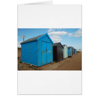 Carte huttes de plage