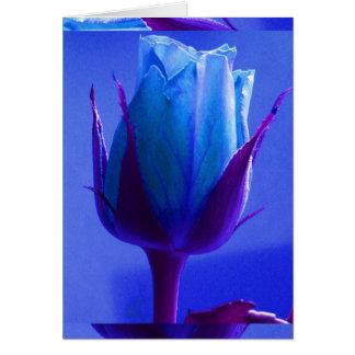 Carte I de plaisir de rose de bleu - personnalisab