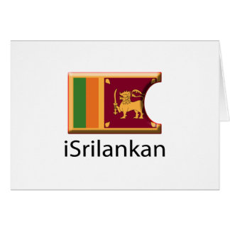Carte iFlag Sri Lanka