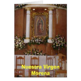 Carte Iglesia (2006), Nuestra Virgen Morena