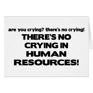 Carte Il n'y a aucun pleurer dans les ressources