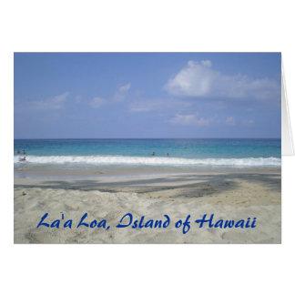 Carte Île d'Hawaï