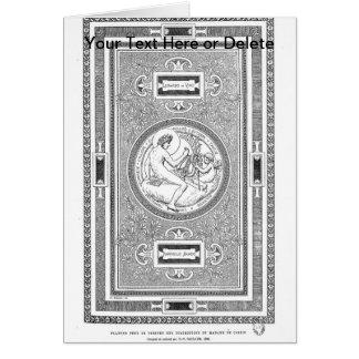 Carte Illustration de classique de plafond de DaVinci et