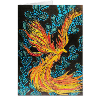 Carte Illustration de Firebird par le cuisinier de Becca