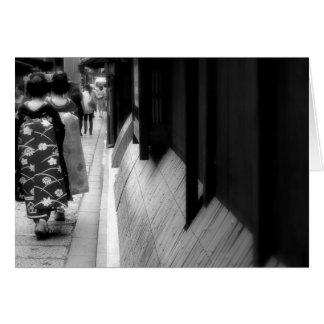 Carte Images noires et blanches du Japon