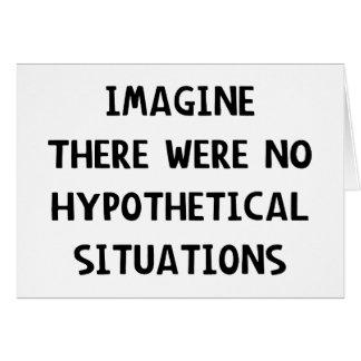 Carte Imaginez hypothétique