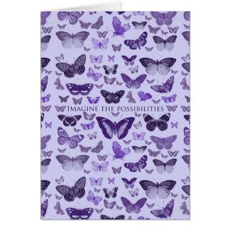 Carte Imaginez les papillons de possibilités