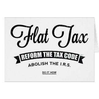 Carte Impôt à taux unique