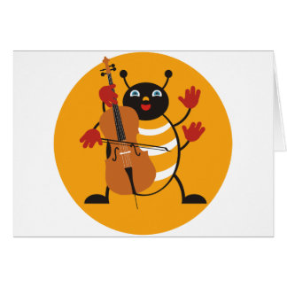 Carte Insecte de violoncelle