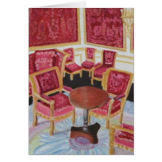 Carte Intérieur rouge : Château De Fontainebleau