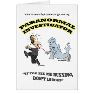 Carte Investigateur paranormal courant