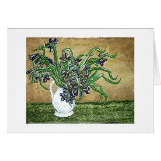 Carte Iris de marais de la Louisiane