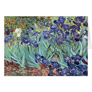 Carte Iris par Vincent van Gogh 1898