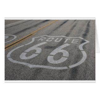 Carte Itinéraire 66