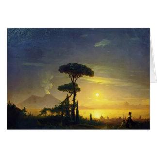 Carte Ivan Aivazovsky- la baie de Naples