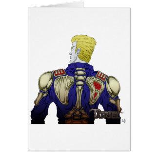 Carte Ivan avec la veste squelettique